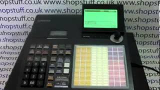 CASIO SEC450 CASH REGISTER / CASIO SE-C450 01004123008