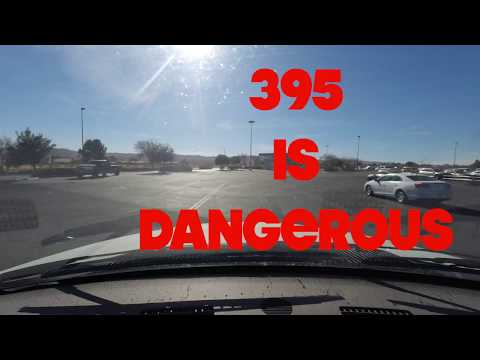 California's 395 is the most dangerous highway