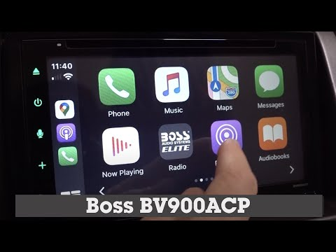 Boss BV900ACP Display And Controls Demo | Crutchfield Video