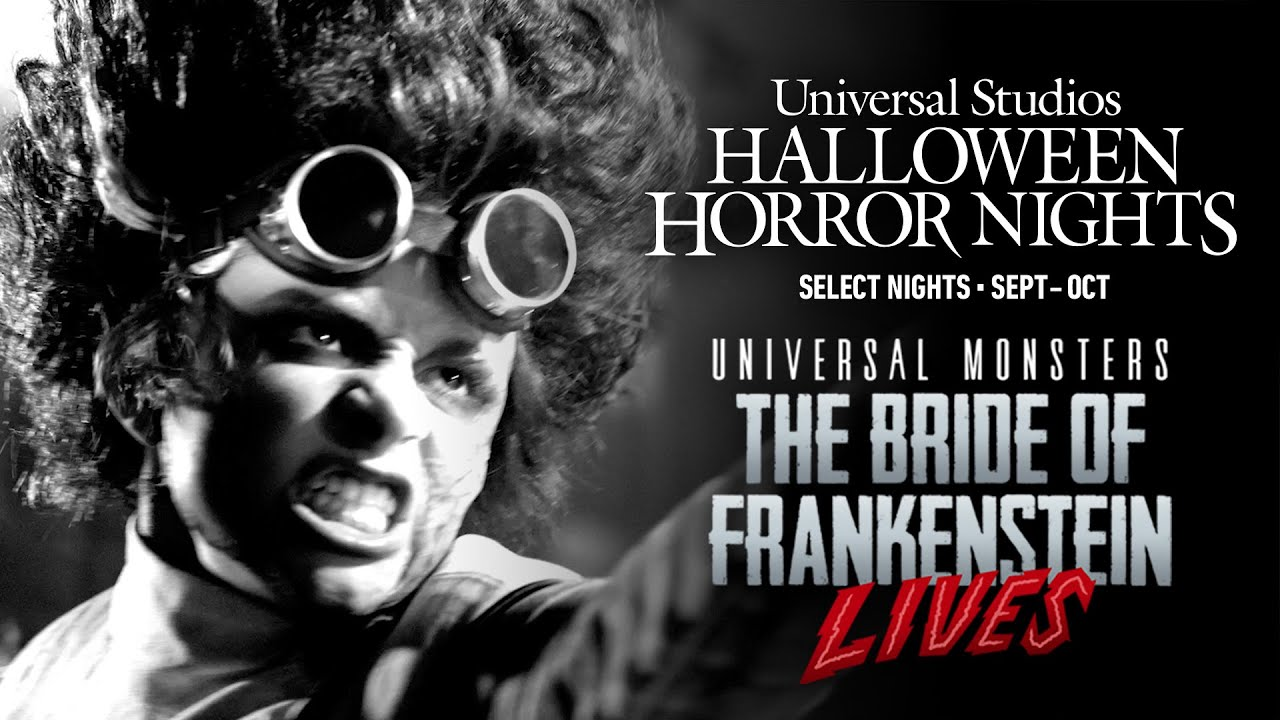 Universal Monsters: The Bride of Frankenstein Lives | #UniversalHHN 2021