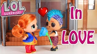 💘🌸 LOL Surprise Doll Valentines Day Planning at School Stop Motion Video💘🎓🎒🌹