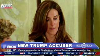 FNN: ANOTHER Woman Accuses Trump of Sexual Assault - Gloria Allred News Conference