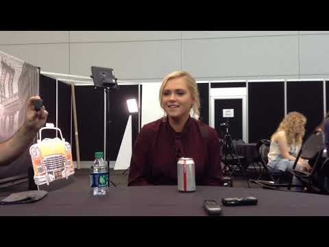 The 100  with Eliza Taylor at NYCC 2018