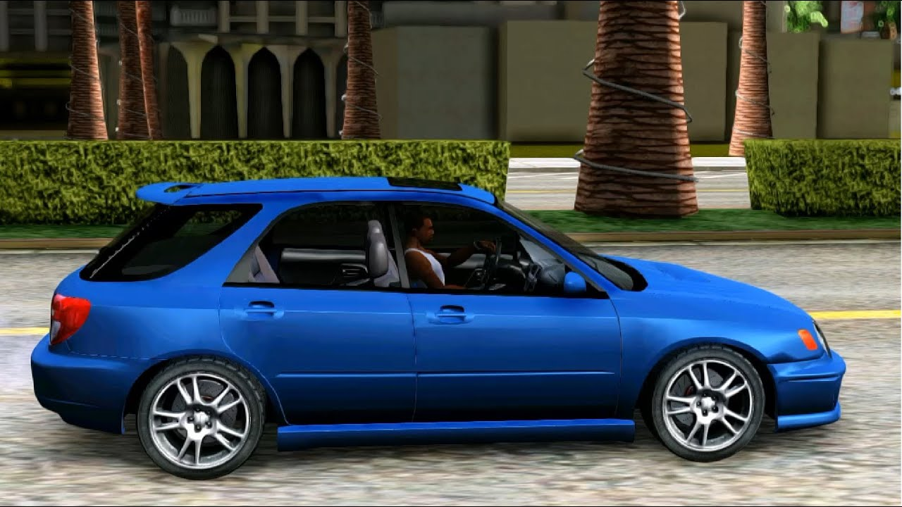 2002 Subaru Impreza WRX Wagon - GTA MOD - YouTube