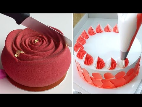 Tasty & Quick Cake Decorating Tutorials | Most Satisfying Chocolate Cake Recipes Compilation