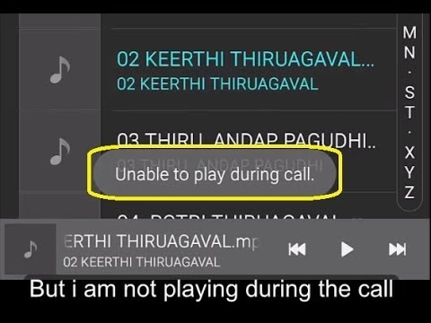 (Officially)How to play music or video during call(ENG subtitles)