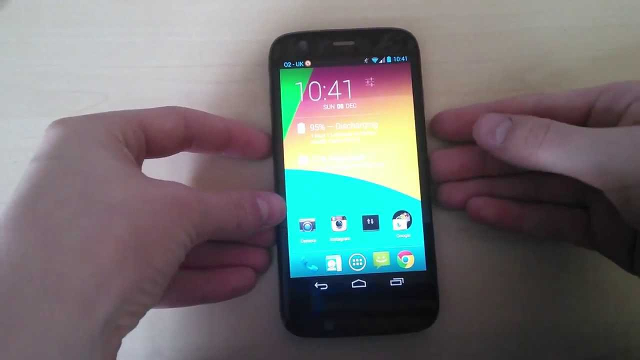 How To Take A Screenshot On The Motorola Moto G Youtube