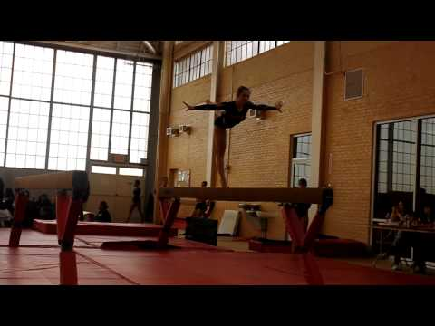 Bronx Science Gymnastics_Beam_Joelle