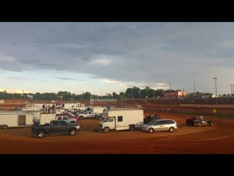 Stock 4 Hotlaps 7/30/16 Cherokee Speedway