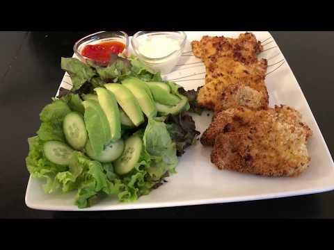 recette-de-poulet-pané