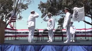 11th Coast Guard District holds change of command ceremony