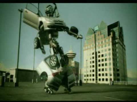 Citroen C4 car dancing to full song Les Rythmes Digitales - Jacques Your Body (Make Me Sweat)