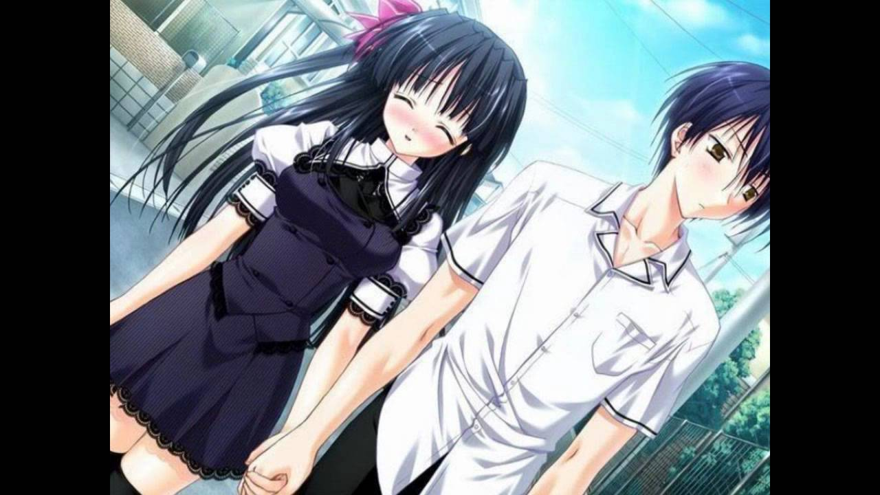 Anime Girl Holding Hands Wallpaper Nightcore Hate That I Love You Youtube