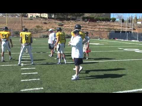 Nevada Football: Coach Polian Mic