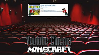 Minecraft | YOUTUBE CINEMA! (Web Displays Mod!) | Mod Showcase [1.7.10]