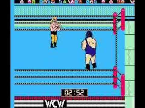 NES WCW Wrestling ( Championship Match )