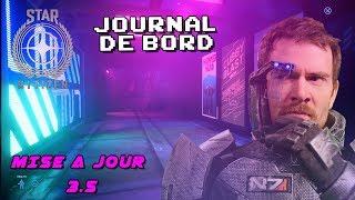 STAR CITIZEN - JOURNAL DE BORD MISE A JOUR 3.5