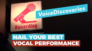 NAIL your best VOCAL PERFORMANCE — Voice training for Guitar Players — Voice Discoveries #4