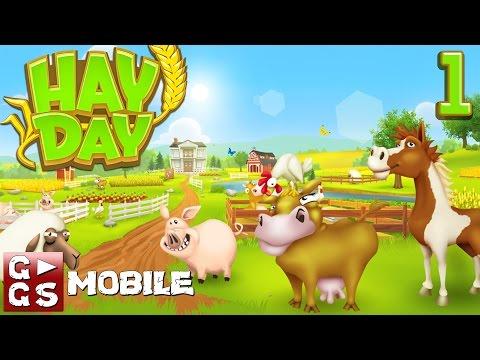 Hay Day #1 Der kultige Farm Manager - macht Laune! G►GS Mobile deutsch HD