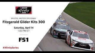 NASCAR Xfinity Series 2018 Fitzgerald Gilder Kits 300 at Bristol Motor Speedway