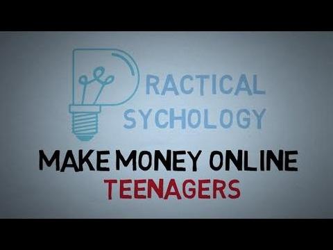 How To Make Money Online - Teen Job Opportunities