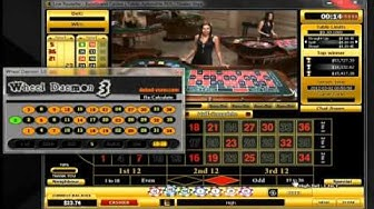 Wheel Daemon 3. Session at Eurogrand. 2 hours. (best roulette software 2012)