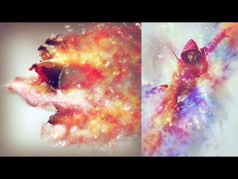 Cosmic Photoshop Action Tutorial
