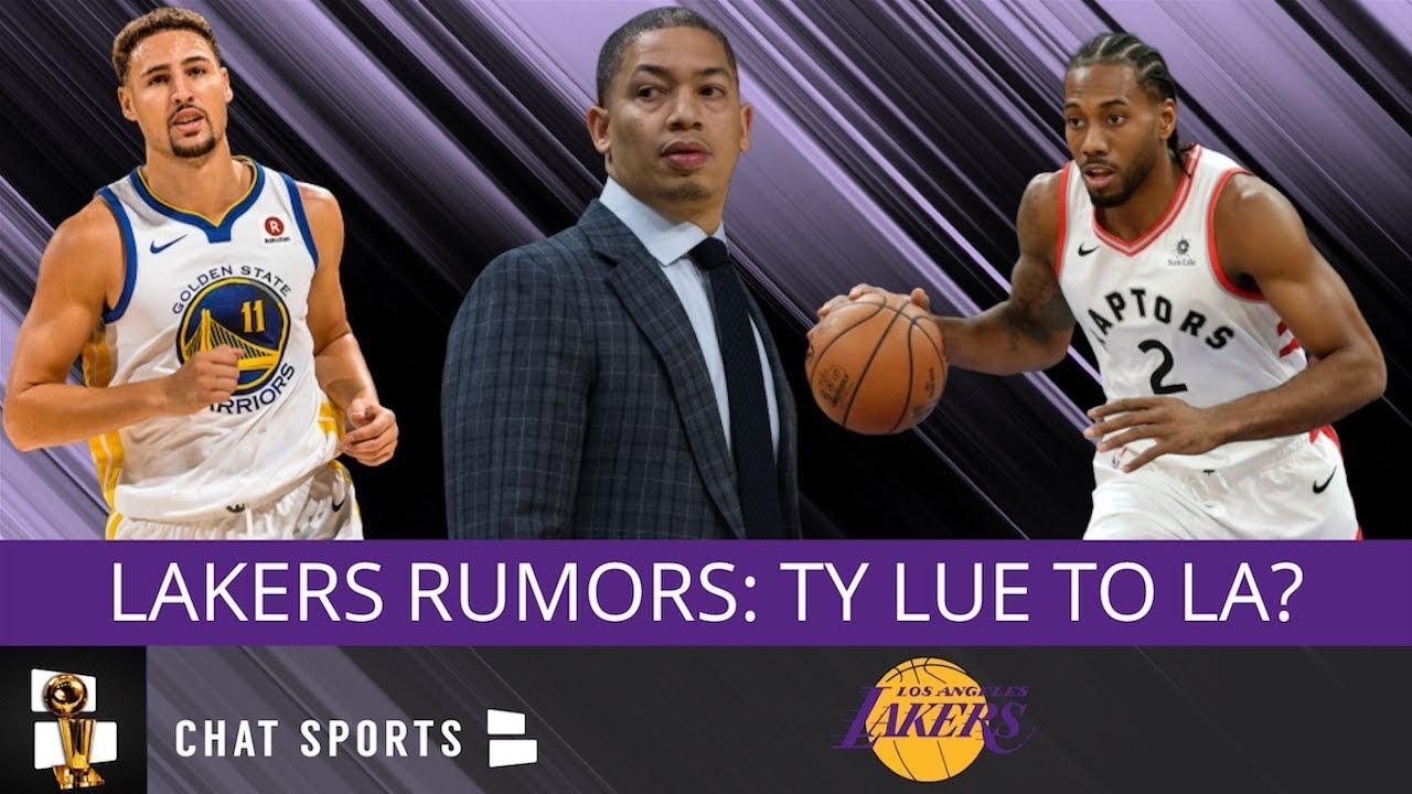 53f0d437d Lakers Rumors  Ty Lue New Head Coach  Klay Thompson 2019 Free Agency ...