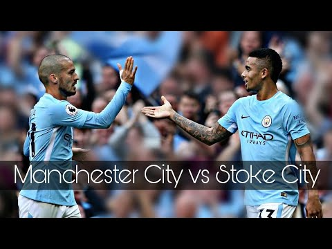 Download Manchester City vs Stoke City - 7 : 2 All Goals & Highlights ( 14 October 2017 )