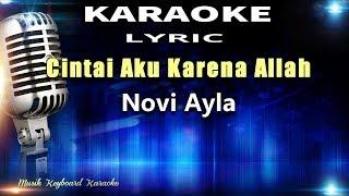 Cintai Aku Karena Allah Karaoke Tanpa Vokal