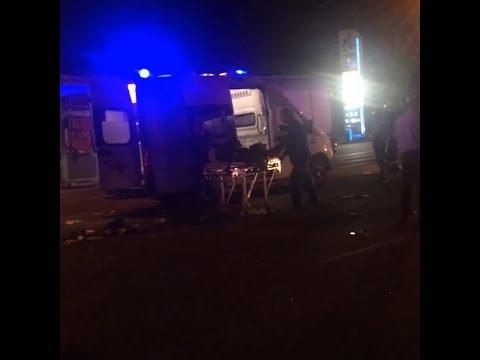 В Челябинске произошло ДТП с мусоровозом и автобусом