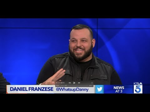 """Daniel Franzese  Talks about his """"Yass!  You're Amazing! Comedy Tour"""""""