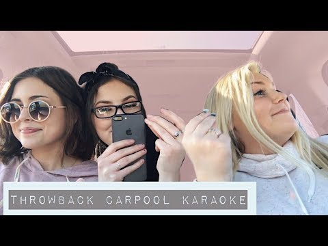 Throwback Carpool Karaoke w/ Megan & Tayler!