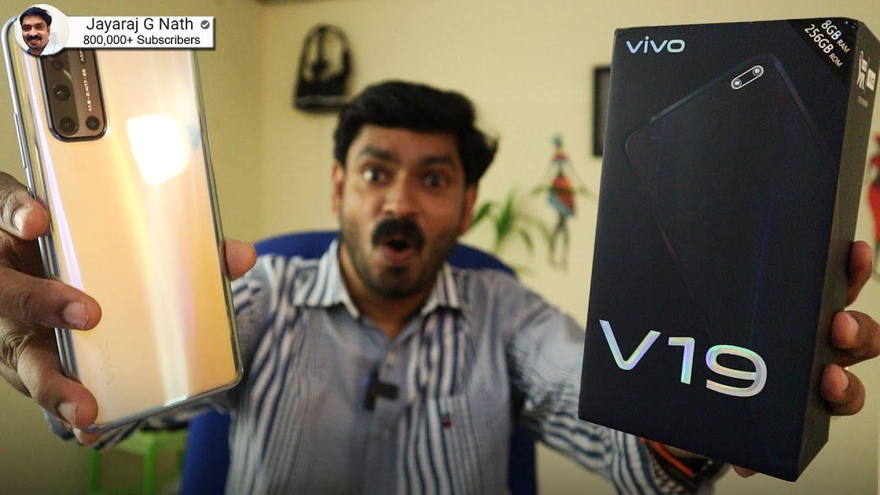 vivo V19 unboxing in Malayalam🔥🔥🔥 || Incredible Camera Smartphone from Vivo⚡⚡⚡