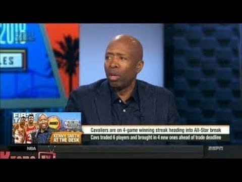 Kenny Smith Reacts to New Cavs & Lebron James (2018 NBA)