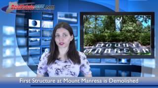 Demolition Begins at Mount Manresa