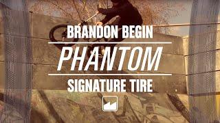 "BRANDON BEGIN BMX TIRE 20/"" x 2.5/"" MERRITT BMX PHANTOM TIRE BLACK"