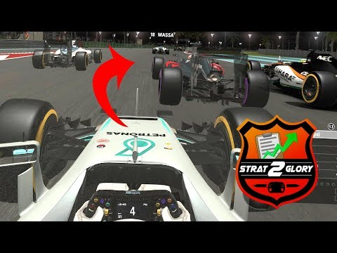 ABSOLUTE CHAOS BEHIND THE SAFETY CAR - F1 Strat-2-Glory S2 #9