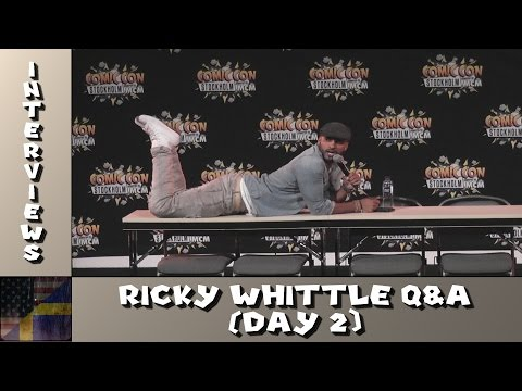 TDG Interviews - Comic Con Stockholm 2016 - Ricky Whittle - Q&A (Day 2)