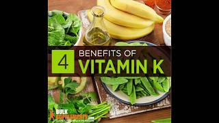 What is vitamin k - what does vitamin k do - what foods have vitamin k
