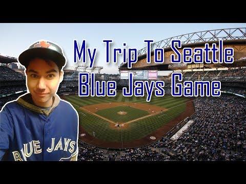 My Trip To Seattle, WA (Toronto Blue Jays Game @ Mariners)