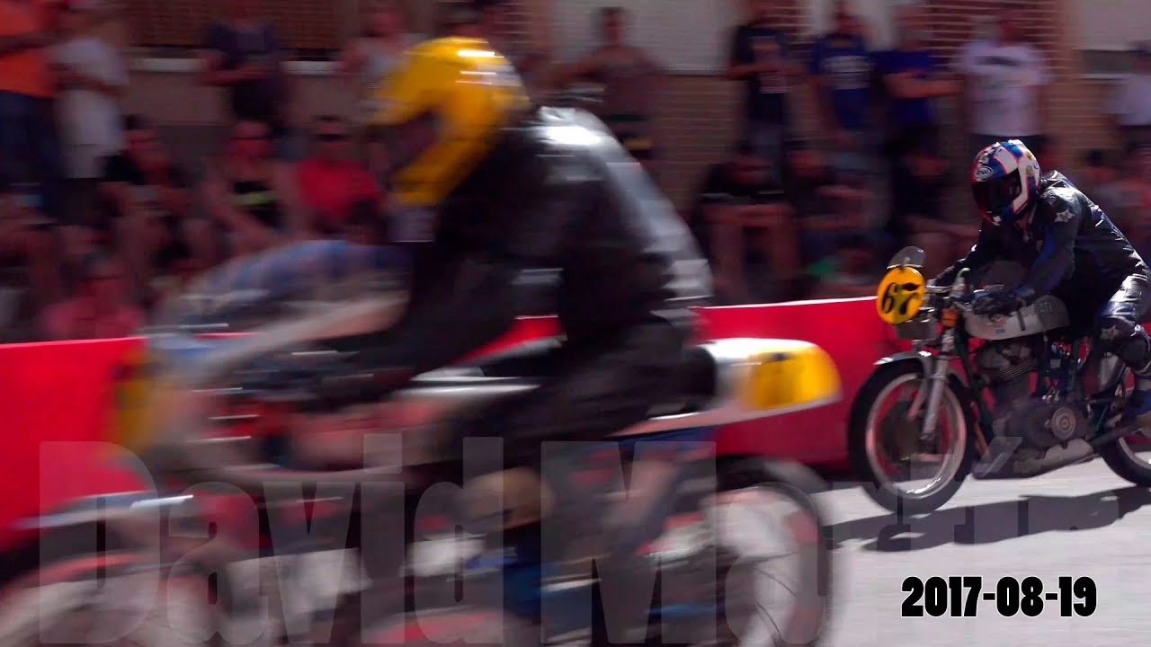 Circuito Urbano La Bañeza : Gp la bañeza entreno motos clásicas de tiempos