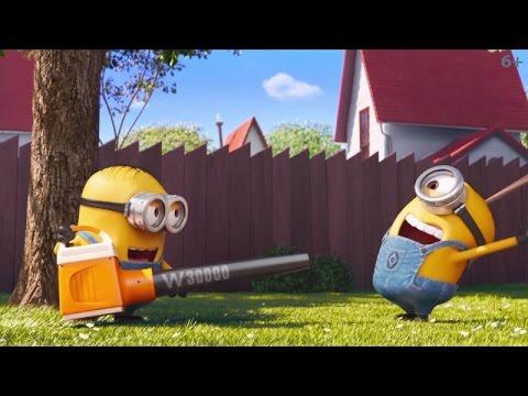 трейлер мультфильма - Миньоны против газона (2016) Трейлер короткометражного мультфильма HD