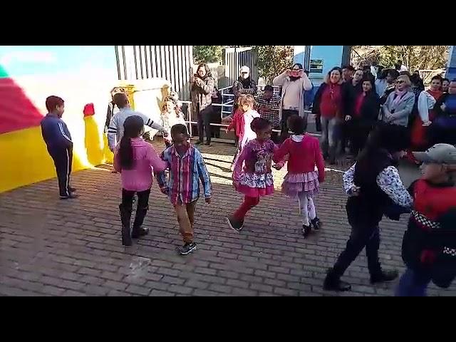 Apresentação da Dança do Pezinho no Festival Cultural 2º edição: Rio Grande do Sul