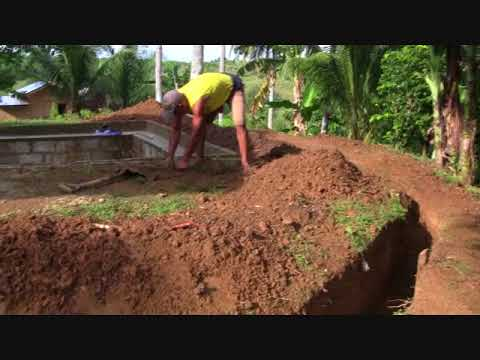 WORK IN PROGRESS  HILLTOP SWIMMING POOL PROJECT UPDATE  BRITISH EXPAT PHILIPPINES