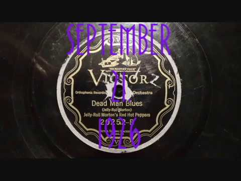 78rpm: Dead Man Blues - Jelly Roll Morton and his Red Hot Peppers, 1926 - Victor 20252
