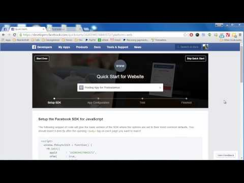 Creating a Facebook App (2015 Facebook Version 2.3+)