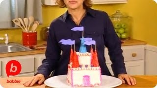 making a castle cake