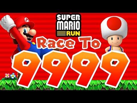 Super Mario Run - Toad Rally | Race To 9999! [iPad and iOS Gameplay]