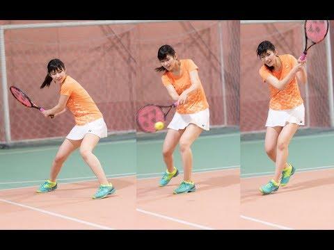 AKB48 佐藤朱のテニス(さとうあかり Team8宮城県代表)